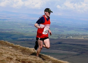 Geoff at Pendle