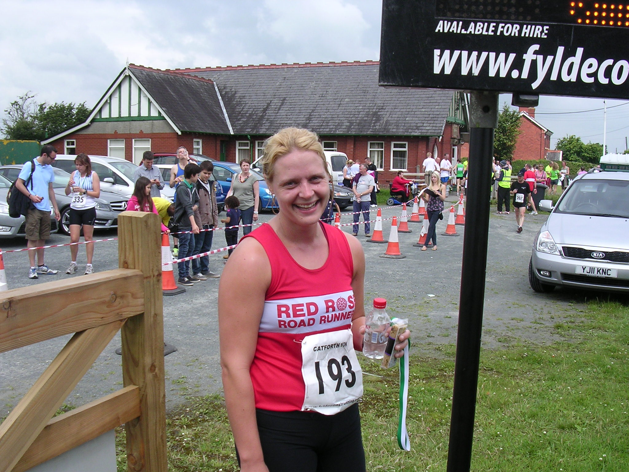 Another Successful Evening at the Cuerden Valley Badger 10k
